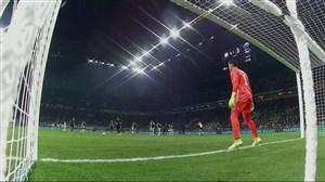گل اول اینتر به یوونتوس توسط (مارتینز - پنالتی)