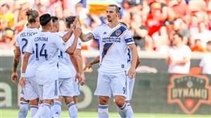 گل فنی و زیبای زلاتان برابر هیوستون در لیگ MLS