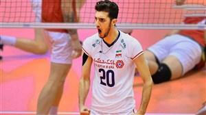 پوریا یلی پدیده تیم ملی والیبال ایران 2019