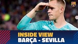 حواشی قبل و بعد از بازی بارسلونا - سویا