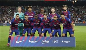 ترکیب اصلی اتلتیکو مادرید و بارسلونا اعلام شد