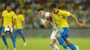 دوئل برزیل - آرژانتین در عربستان