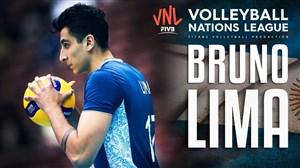 برترین حرکات لیما در لیگ جهانی والیبال