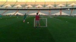 سومین تمرین تیم ملی فوتبال ایران پیش از دیدار برابر کامبوج