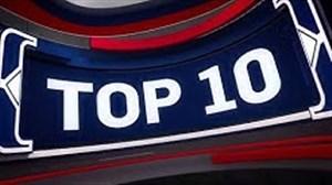 10 حرکت برتر شب گذشته لیگ بسکتبال NBA
