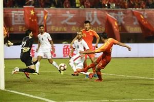 برتری تیم المپیک چین مقابل اردن