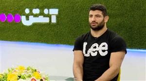 مصاحبه جذاب با علیرضا کریمی، نایب قهرمان کشتی جهان
