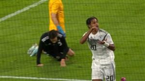 گل اول آلمان به آرژانتین توسط گنابری