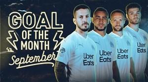 بهترین گل های باشگاه مارسی در ماه سپتامبر 2019