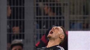 گل دوم آرژانتین به آلمان توسط اوکامپوس