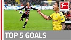 5 گل برتر هفته هفتم بوندسلیگا