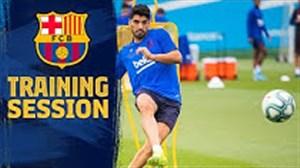 تمرینات بارسلونا (18-07-98)