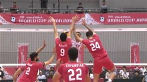 دفاع سرسخت ایران در رالی دیدنی مقابل تونس
