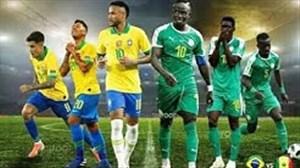 خلاصه بازی برزیل 1 - 1 سنگال