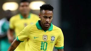 رکورد جدید برای نیمار در تیم ملی برزیل