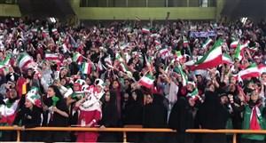 حسن ختام حضور فوق العاده زنان در ورزشگاه آزادی