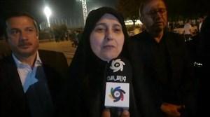 پروانه سلحشوری:امیدوارم خانواده ها در ورزشگاه کنار هم باشند