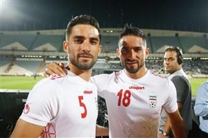 برادران محمدی بعد از اولین بازی مشترک ملی