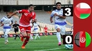 گلهای بازی عمان 3 - 0 افغانستان