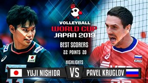 خلاصه والیبال ژاپن 3 - روسیه 1