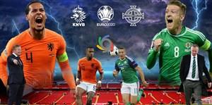 خلاصه بازی هلند 3 - ایرلند شمالی 1(اختصاصی)