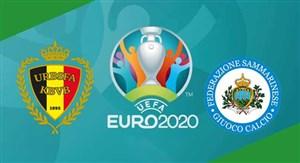 خلاصه بازی بلژیک 9 - سن مارینو 0 (مقدماتی یورو)