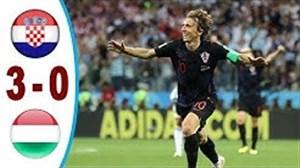 کرواسی 3 - 0 مجارستان (مقدماتی یورو2020)