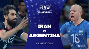 خلاصه والیبال آرژانتین 2 - ایران 3