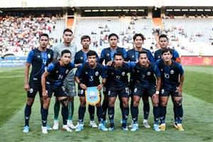 ترکیب کامبوج برابر تیم ملی ایران اعلام شد