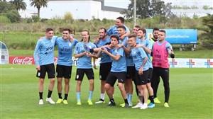 تمرین امروز تیم ملی اروگوئه (19-07-98)