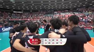 خلاصه والیبال ژاپن 3 - مصر 2