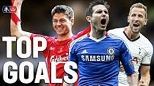 گلهای برتر بازیکنان انگلیسی در جام حذفی