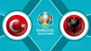 خلاصه بازی ترکیه 1 - آلبانی 0