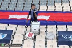 گفتگو با تنها هوادار تیم کامبوج در استادیوم آزادی