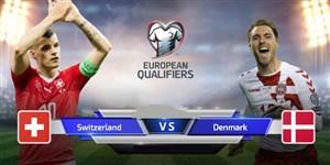 خلاصه بازی دانمارک 1 - سوئیس 0 (مقدماتی یورو)