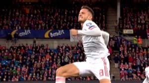 گل اول اسپانیا به نروژ (سائول)
