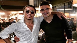 حضور فالکائو در رستوران سرآشپز نصرت