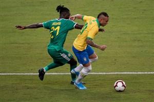 خلاصه بازی برزیل 1 - نیجریه 1 (بازیدوستانه)