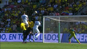 گل اول آرژانتین به اکوادور (آلاریو)