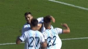 گل دوم آرژانتین به اکوادور گل به خودی (اسپینوزا)