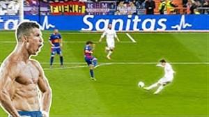 گلهای تماشایی ستارگان رئال مادرید