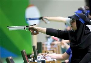 تیم میکس تفنگ بادی ایران چهارم آسیا شد