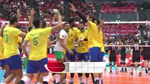 خلاصه والیبال ژاپن 1 - برزیل 3 (جام جهانی)