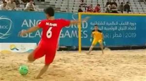 صعود تیم ملی فوتبال ساحلی به نیمه نهایی