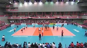 خلاصه والیبال آمریکا 3 - 1 مصر