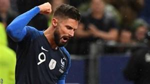 جدایی ژیرو از چلسی، تنها راه حل مشکل تیم ملی فرانسه