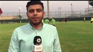 اختصاصی-گزارش تمرین تیم فولاد خوزستان
