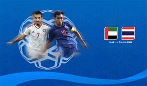 گل های بازی تایلند 2 - امارات 1