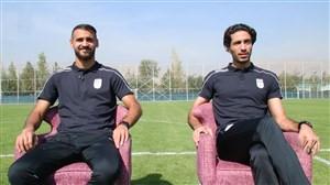 گفتگو جذاب با دو نماینده جدید سرخابی ها در تیم ملی