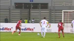 گل اول بحرین به ایران (هاردان - پنالتی)